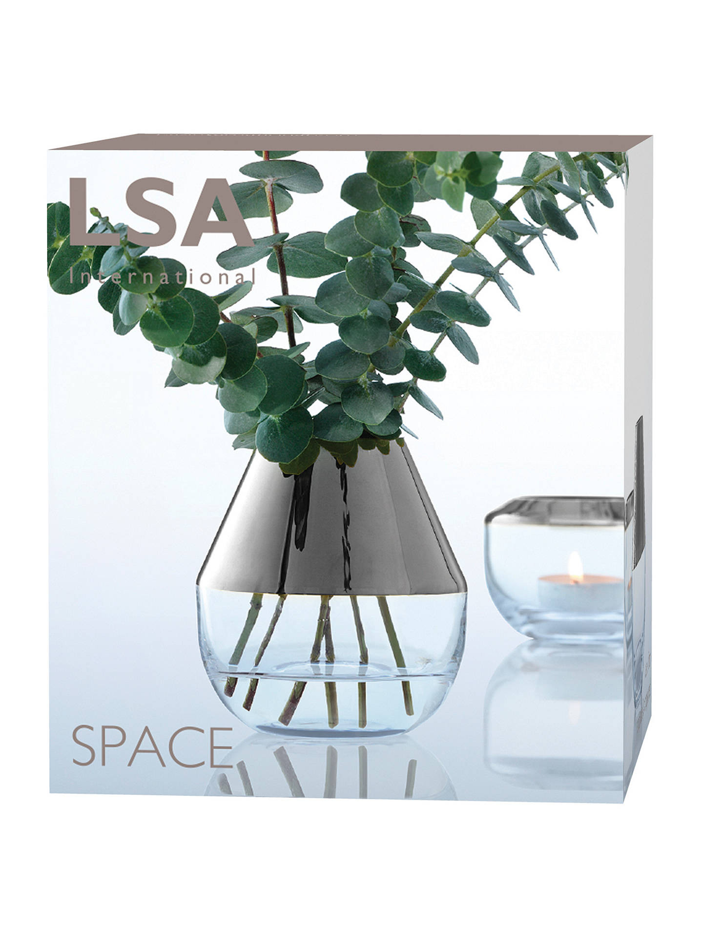 hummingbird vase of bud vases small glass vases with strong suction cups for t regarding buylsa international space bud vase platinum h10cm online at johnlewis com