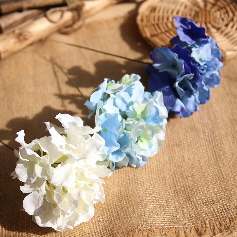 hydrangea artificial flowers in vase of 2018 lin man 32cm long artificial hydrangea decorative silk flower with 2018 lin man 32cm long artificial hydrangea decorative silk flower head for wedding wall arch diy flower bouquet home decoration accessory props from