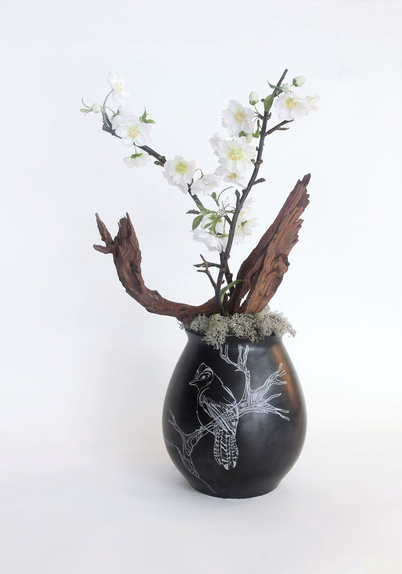 "ikebana vase pottery of decorative ceramics furnishing articles metal zen style the throughout decorative ceramics furnishing articles metal zen style the simulation flower e…e¥ e™¶c""· ae'†a¶ e‡'a±ž c¦…ae"