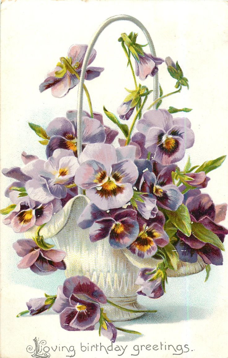 in ground metalcraft cemetery vases of 77 best baskets images on pinterest easter crafts easter baskets with regard to pansies violet yellow centred blooms in white porcelain vase with tall looped handle