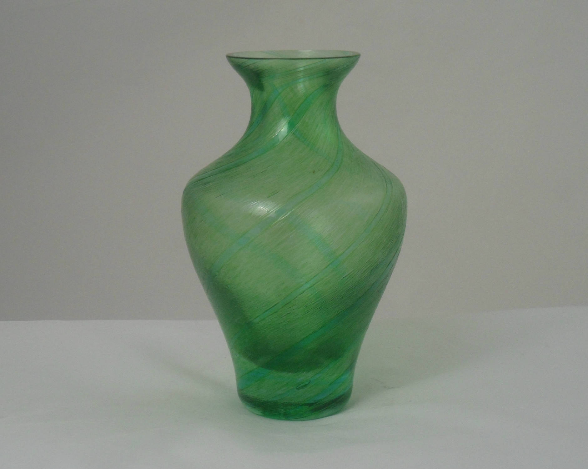 isle of wight glass vase of caithness green glass vase green baluster vase with textured etsy regarding image 0