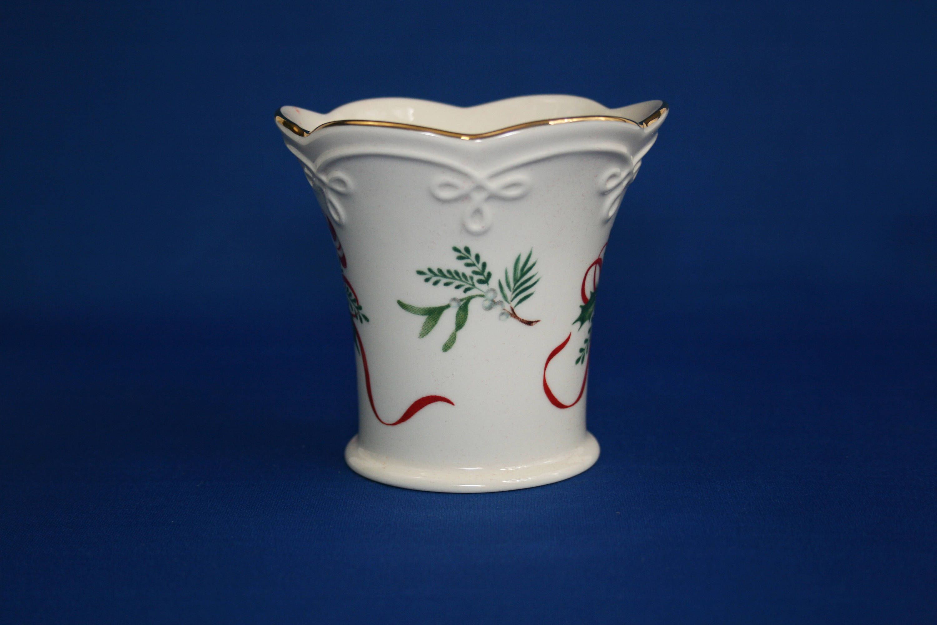 Ivory Ceramic Vase Of 26 Lenox Small Vase the Weekly World Intended for Vintage Lenox China Candy Cane Tea Light Fluted Cup Candle Holder