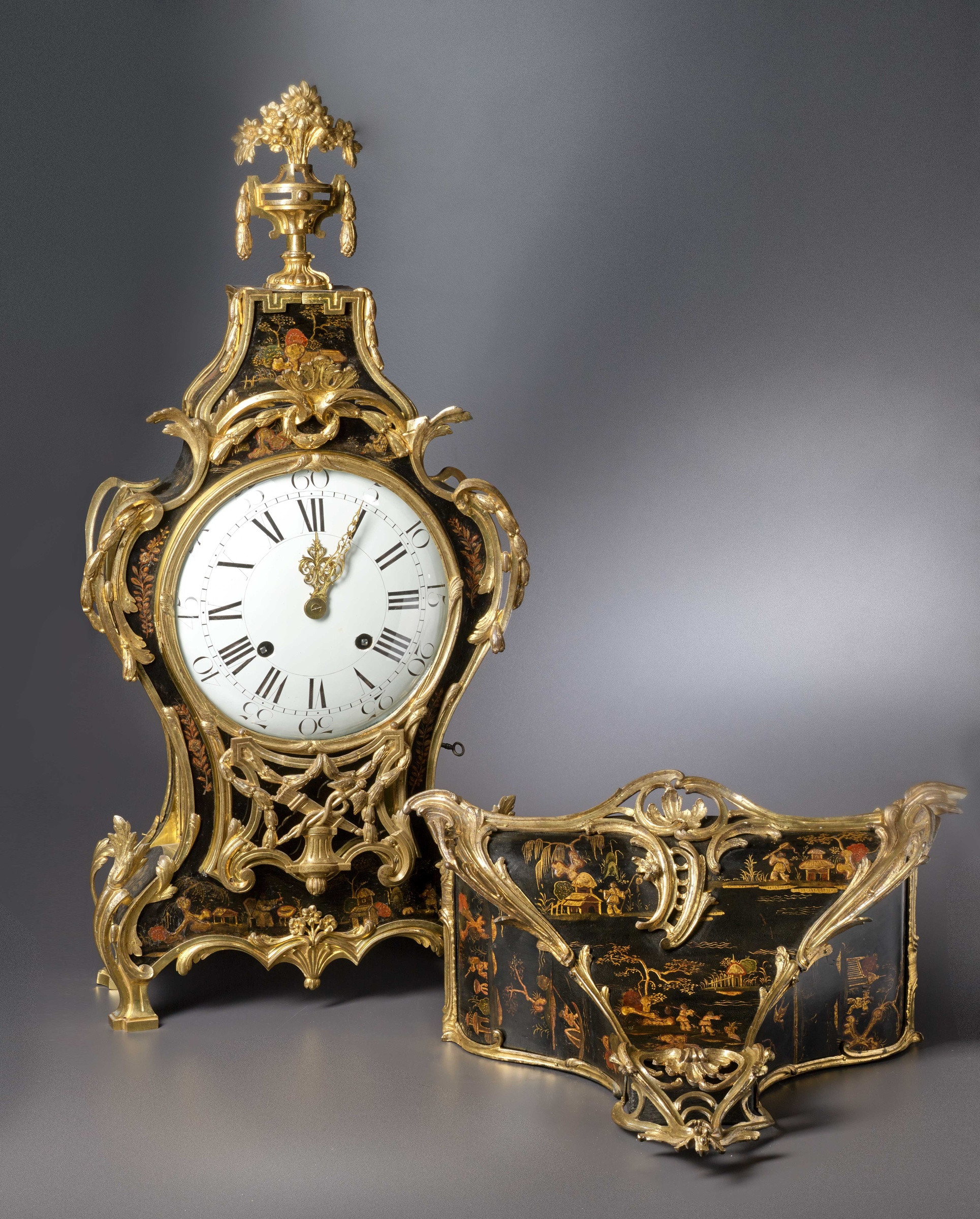 28 Stylish Japanese Bronze Vase 2021 free download japanese bronze vase of adrien jarame jollain a louis xv transitional louis xvi grande regarding a louis xv transitional louis xvi grande cartel clock with bracket housed in a case by
