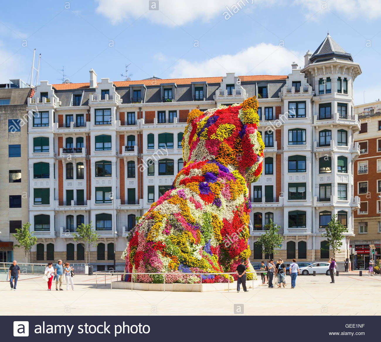 jeff koons puppy vase of jeff koons puppy sculpture stock photos jeff koons puppy sculpture regarding jeff koons puppy sculpture outside guggenheim museum in bilbao basque country spain stock