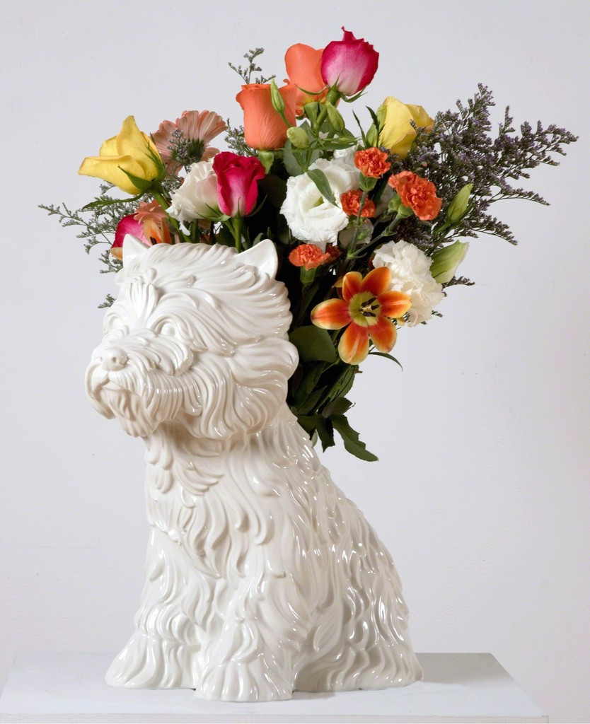 jeff koons puppy vase price of jeff koons puppy vase anniversary release gagosian artsy with larger
