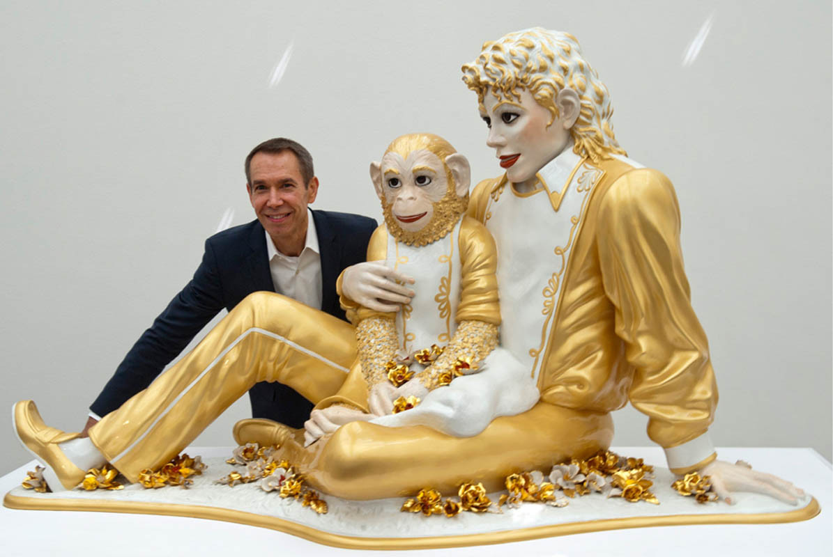 Jeff Koons Puppy Vase Price Of Michael Jackson Bubbles In Controversial Sculpture by Jeff Koons Pertaining to Jeff Koons Michael Jackson and Bubbles 1988 Fondation Beyeler Riehen Switzerland