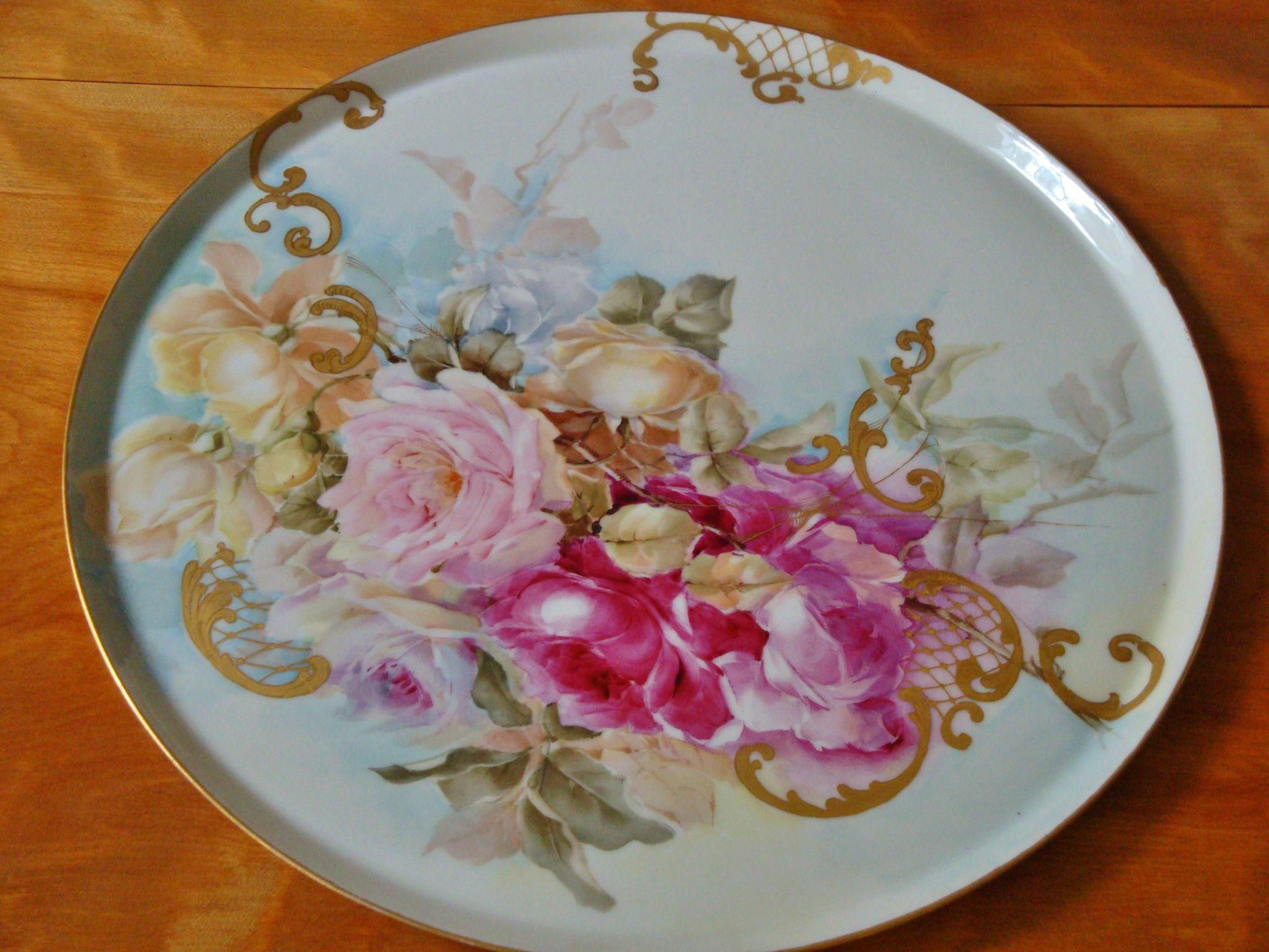 jpl france vase of antique limoges france incredible hand painted porcelain p with regard to beautiful limoges france hand painted porcelain french tray plaque for jardiniere punch bowl or vase