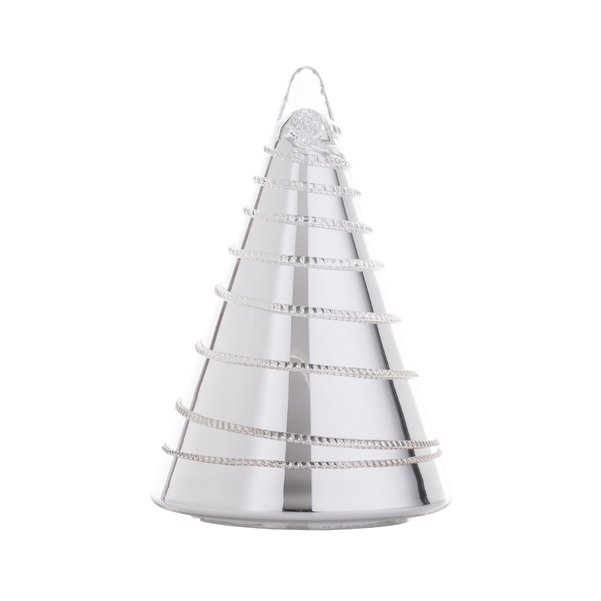 Juliska Glass Vase Of Amalia Glass Christmas Tree 10 Silver In Availability Out Of Stock