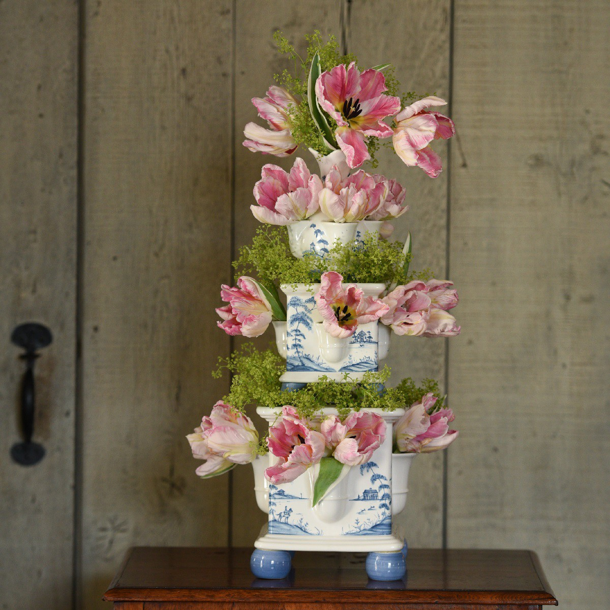 juliska glass vase of country estate delft blue tulipiere tower set 3 garden follies for march juliska jpegs 0027