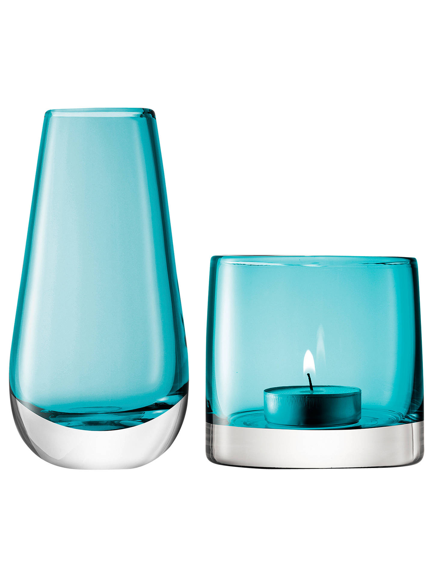 kate spade glass vase of bud vases small glass vases with strong suction cups for t pertaining to buylsa international flower bud vase and tealight holder peacock online at johnlewis com