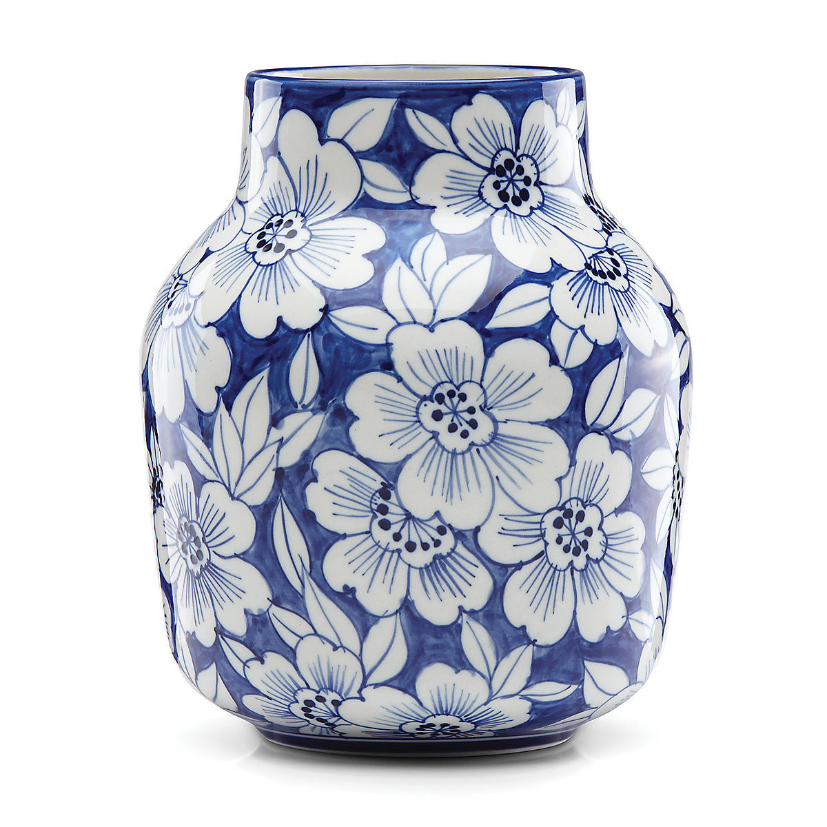 "kate spade lenox vase of painted indigoa""¢ floral tapered vase wedding anniversary for painted indigo floral tapered vase"