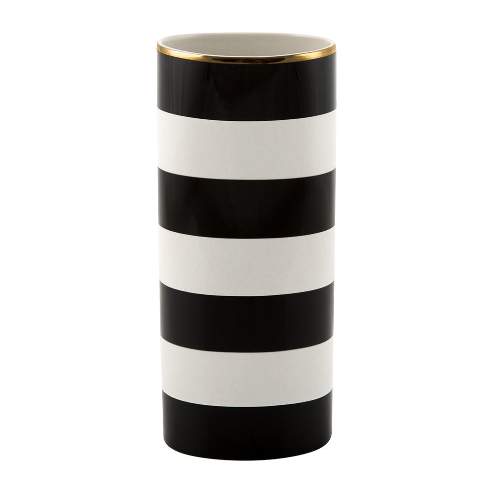 kate spade owl vase of buy kate spade new york everdone lane black white stripe vase amara regarding next