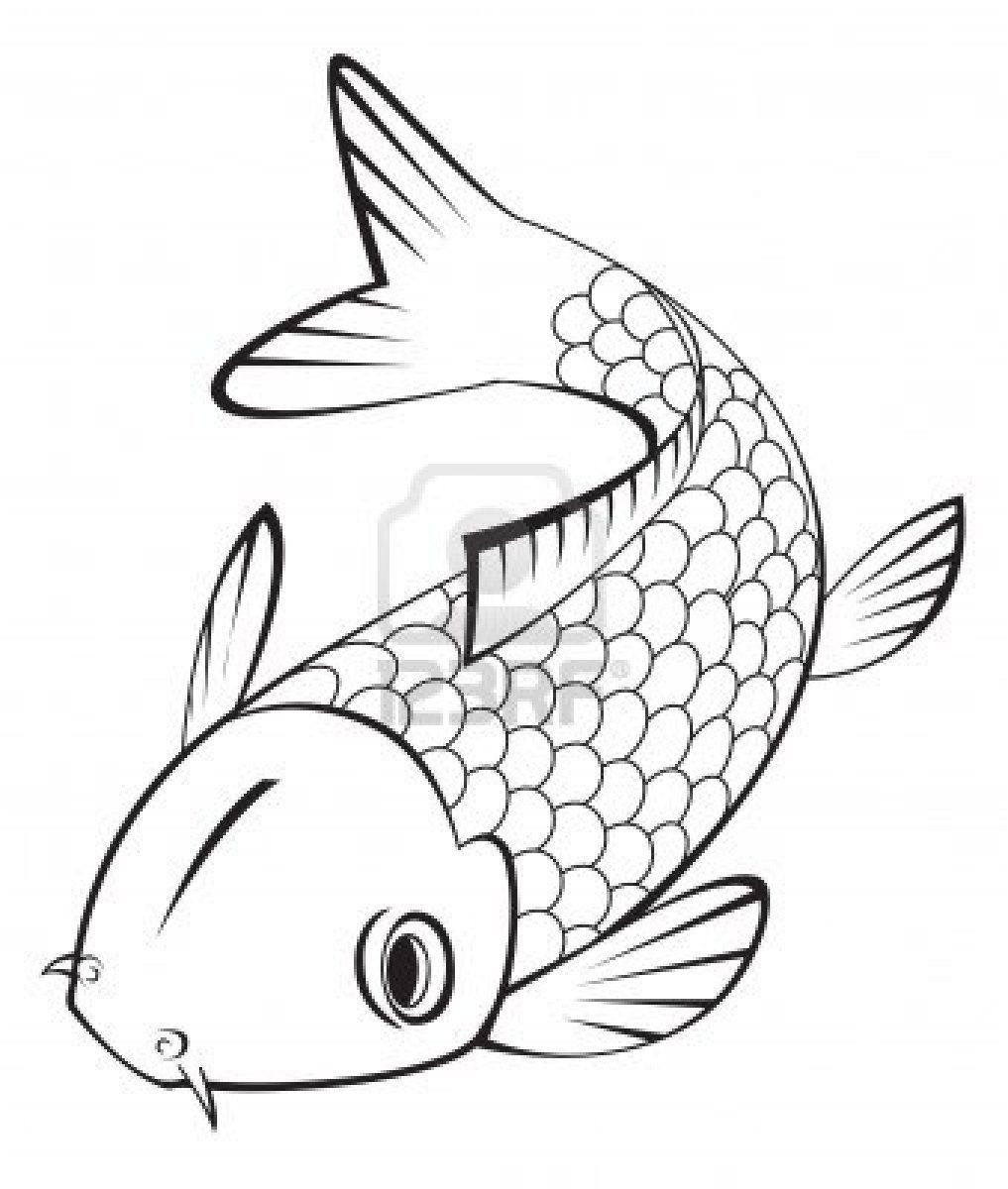 koi fish vase of fish coloring pages for adults cool coloring pages regarding download koi fish coloring pages