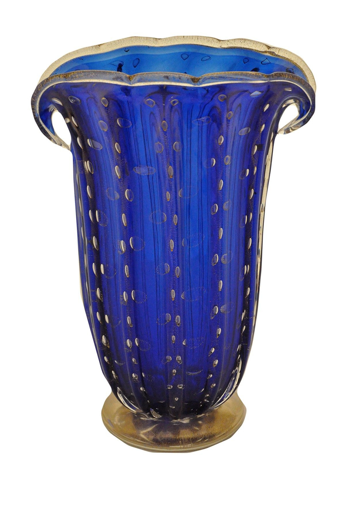 kosta boda blue mirage crystal vase of vintage blue murano glass vase with 24k gold italy glass for vintage blue murano glass vase with 24k gold italy