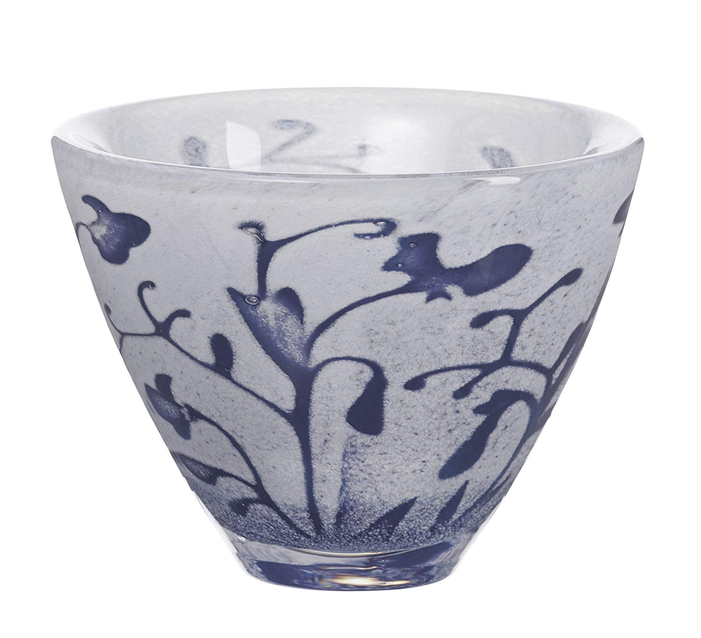 kosta boda contrast vase white of amazon com kosta boda floating flowers bowl blue decorative bowls for amazon com kosta boda floating flowers bowl blue decorative bowls kitchen dining