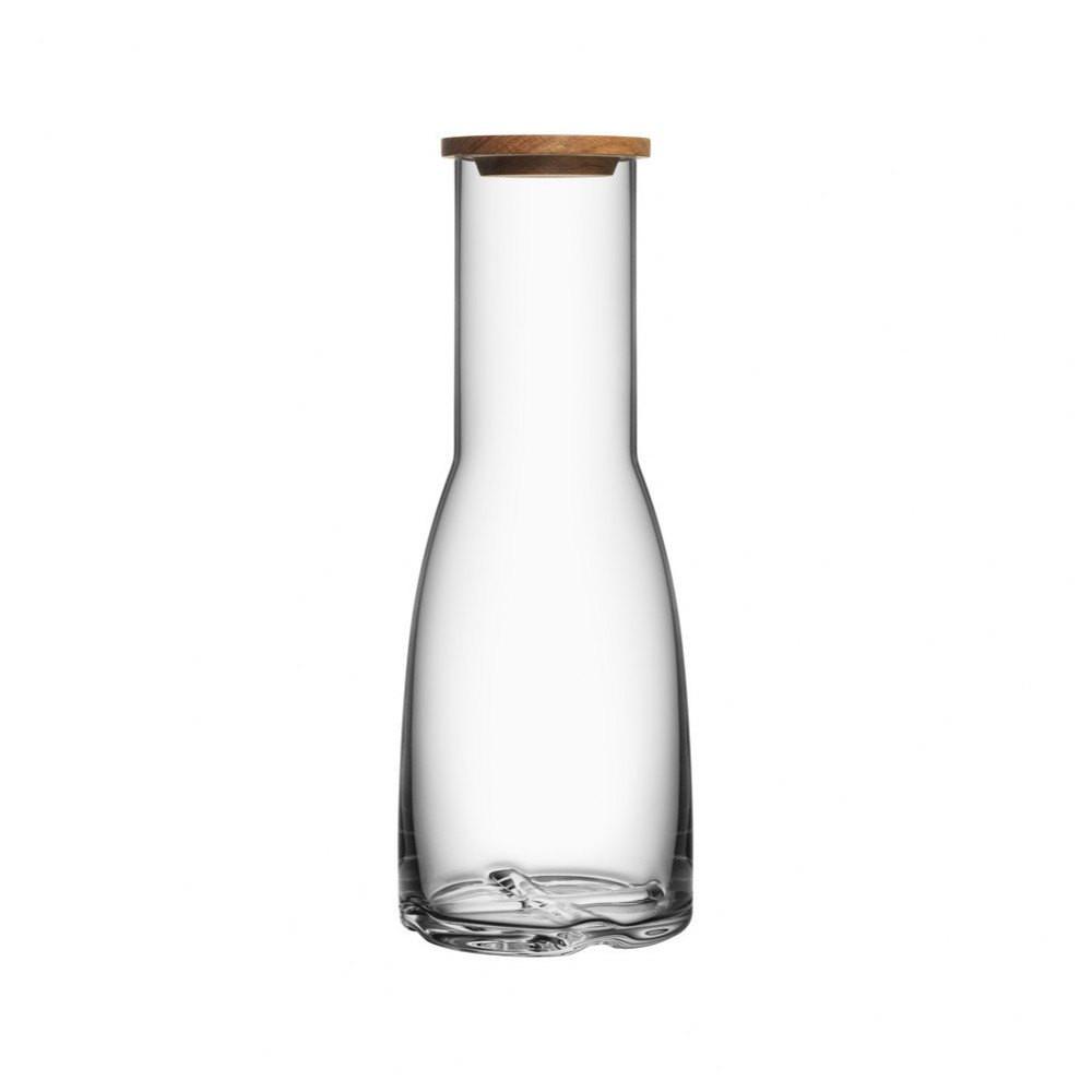 kosta boda contrast vase white of bruk carafe with oak lid skandium within bruk carafe with oak lid