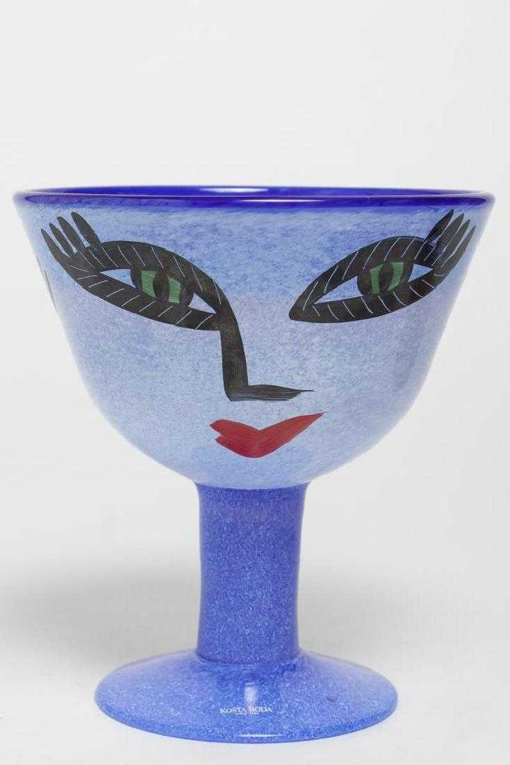 kosta boda face vase of ulrica vallien for kosta boda open minds compote pertaining to 59390832 1 x