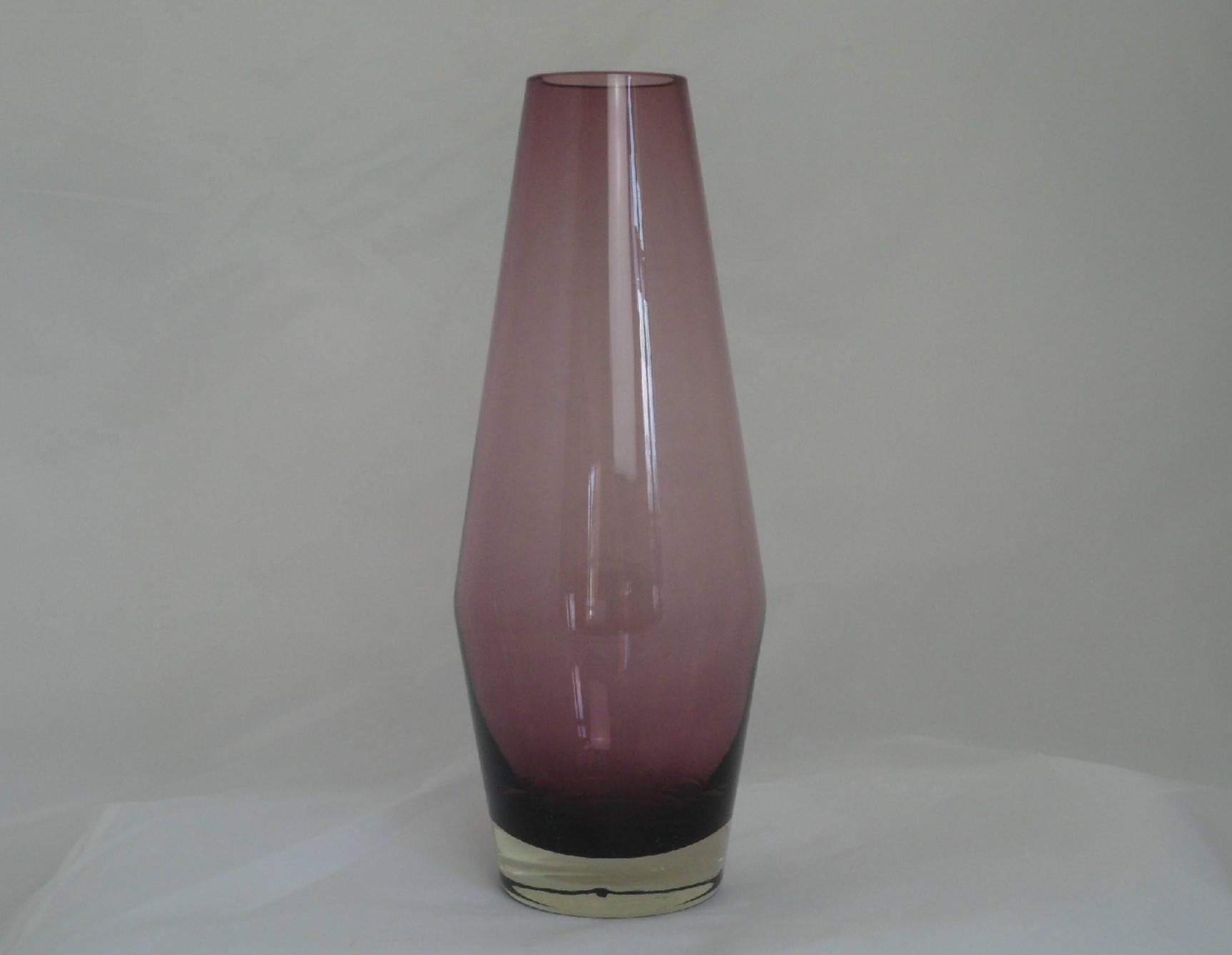 """kosta boda purple vase of riihima¤ki fioletowe szka'a wazon stylowy design fia""""ski 1960 etsy throughout dŸ""""Žpowia™ksz"""