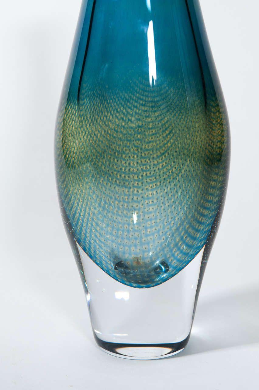 kosta boda tulipa vase of sven palmqvist orrefors kraka art glass vase image 4 fragile art in sven palmqvist orrefors kraka art glass vase image 4