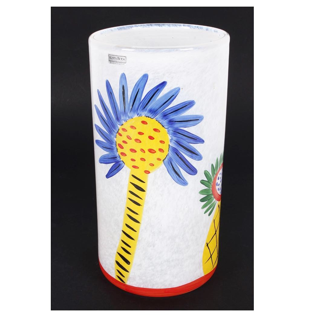 kosta boda vases australia of scandinavianglass photos visiteiffel com in slip into summer with this bright and cheerful kosta boda art glass vase in collaboration with iconic australian artist ken done