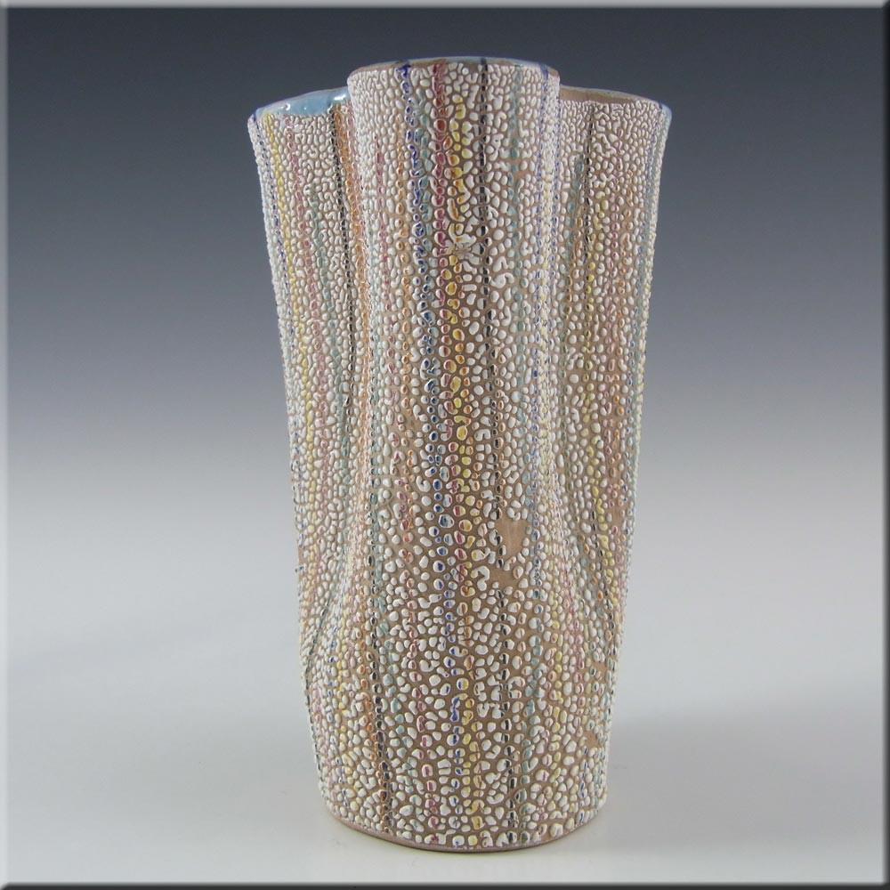 Kralik Glass Vase Of Fratelli Fanciullacci Italian Ceramic Pottery Vase A21 85 with Italian Ceramic Pottery Vase A21 85