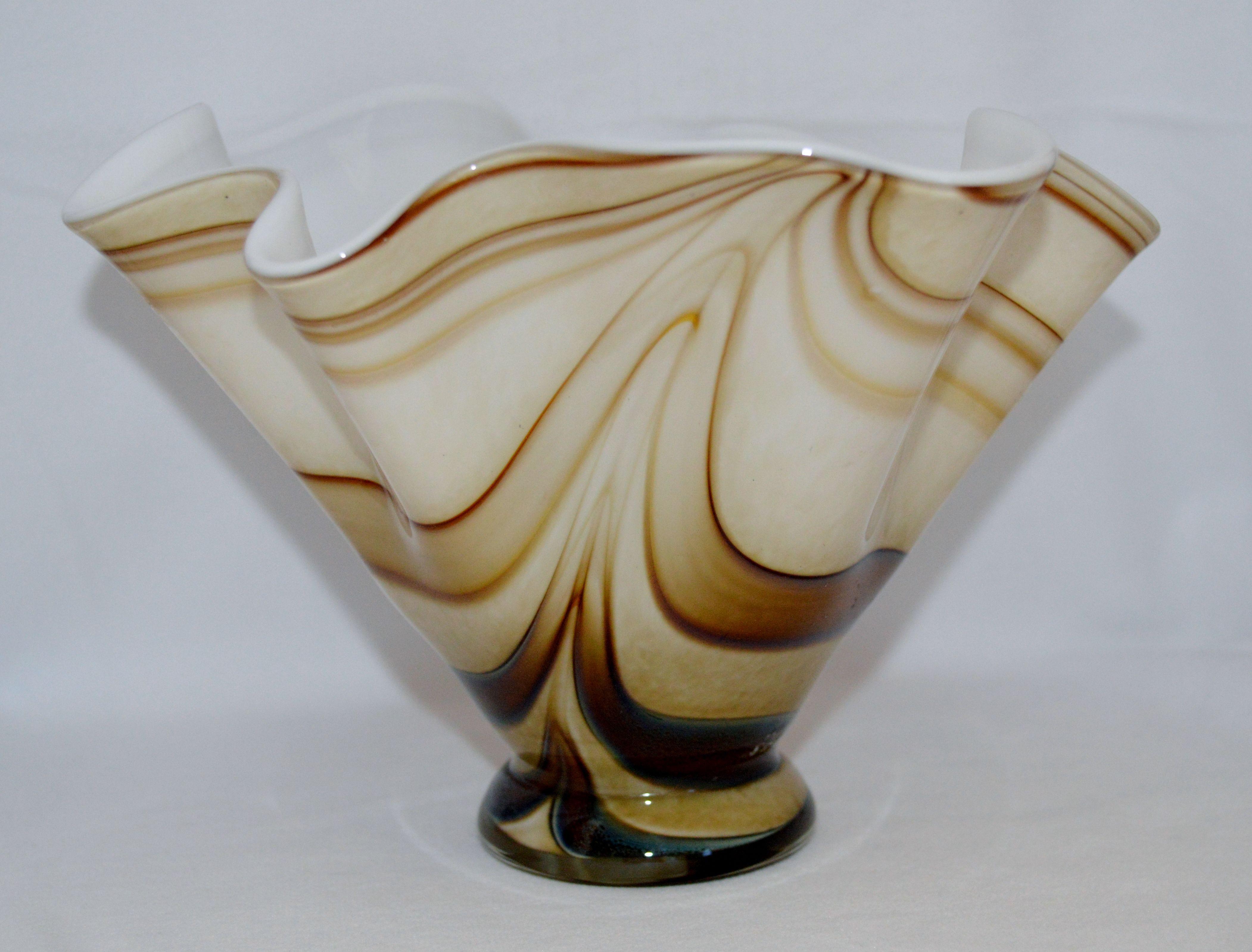 krosno poland glass vase of krosno polish makora glass vase hand blown artisan by jozefino pertaining to krosno polish makora glass vase hand blown artisan by jozefino