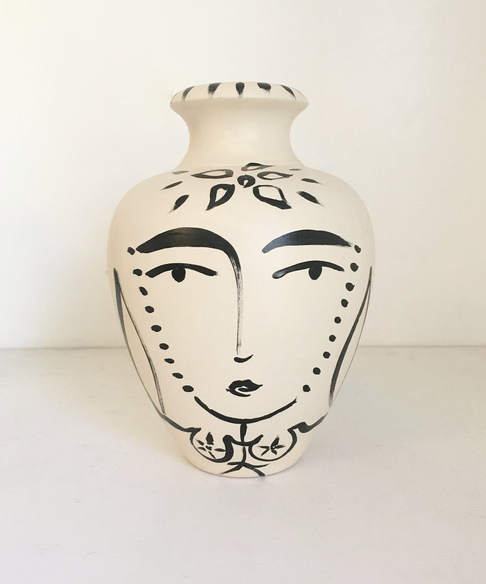 lady head vase collection of paige pottery paige kalena follmann inside sacred femme lipped vase ii sold