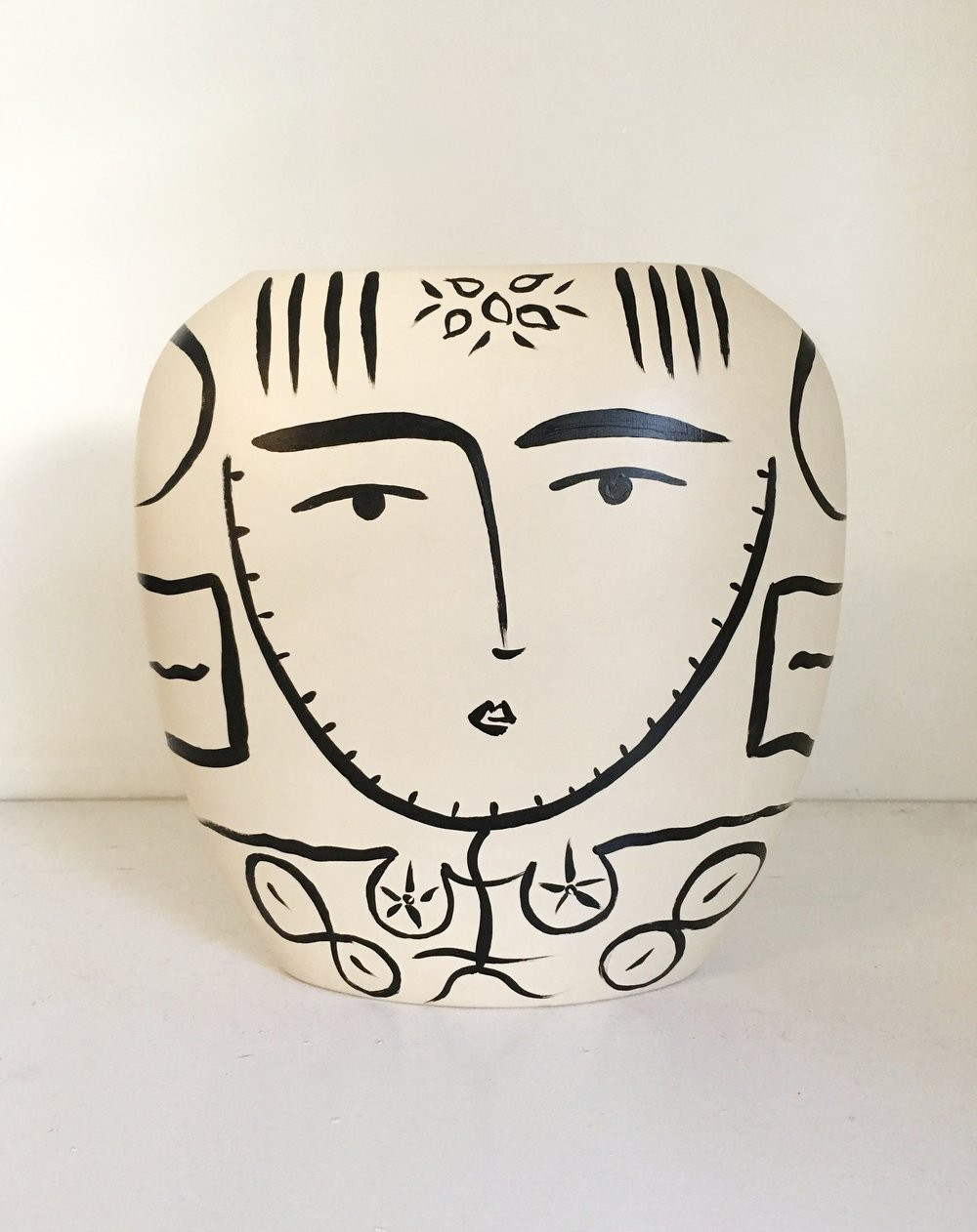 lady head vase collection of paige pottery paige kalena follmann with sacred femme vase sold