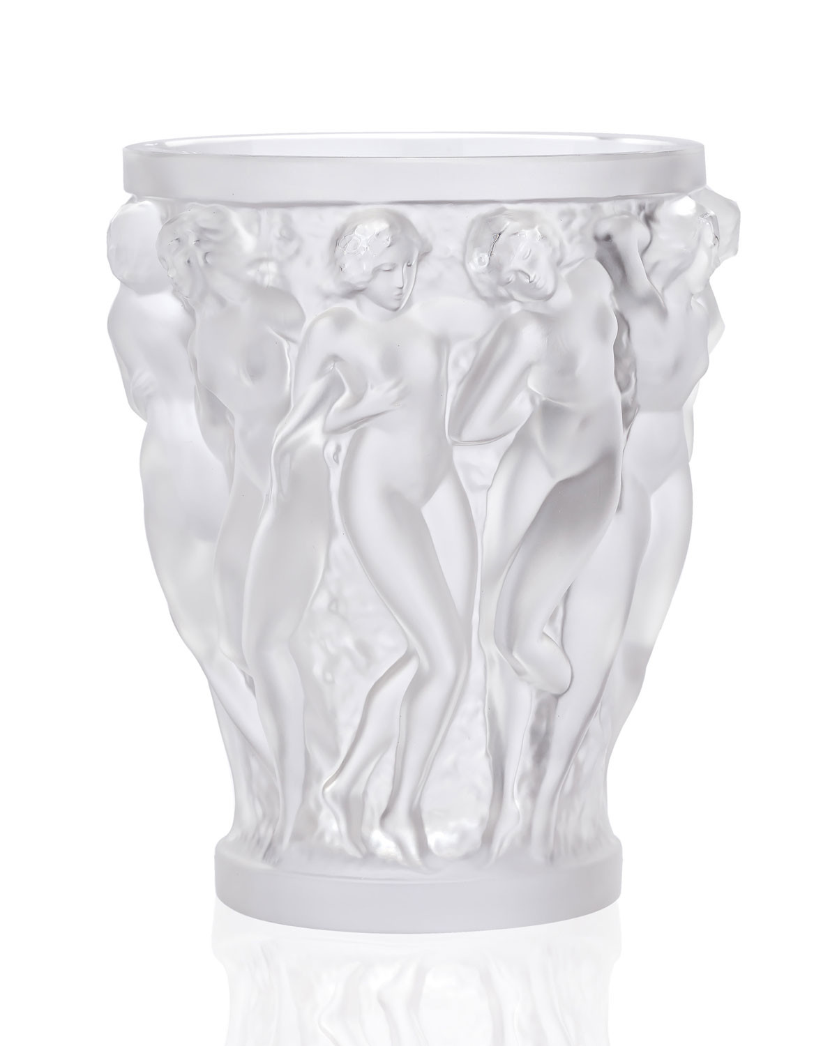 11 Unique Lalique Bacchantes Vase Large