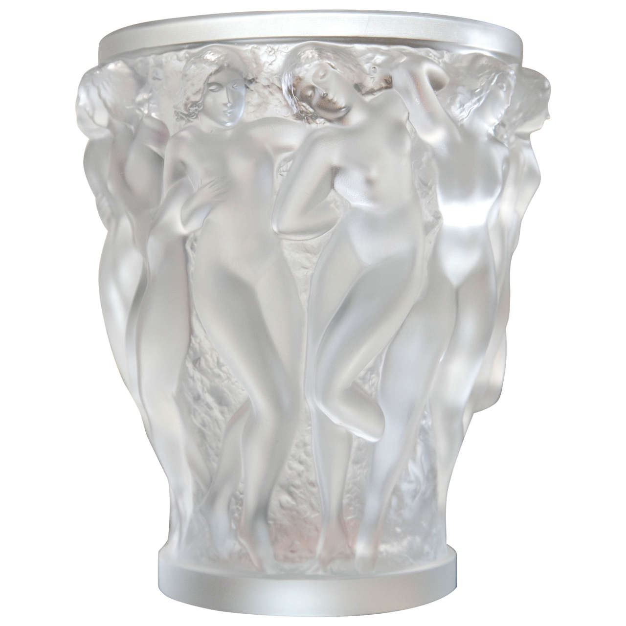lalique crystal dampierre vase of lalique crystal vase at 1stdibs regarding lalique crystal vase for sale