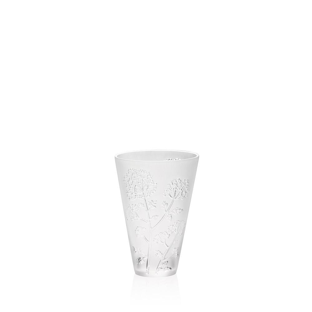 lalique crystal dampierre vase of ombelles small vase clear crystal small size vase lalique lalique within ombelles small vase clear crystal small size vase lalique