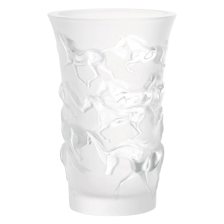 lalique dampierre bird vase of lalique elisabeth satin and clear crystal vase portraying birds in for lalique elisabeth satin and clear crystal vase portraying birds in branches at 1stdibs