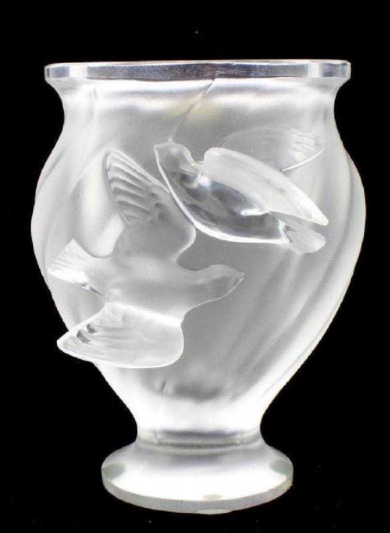 lalique dampierre bird vase of lalique rosine bird vase within 64146925 1 x