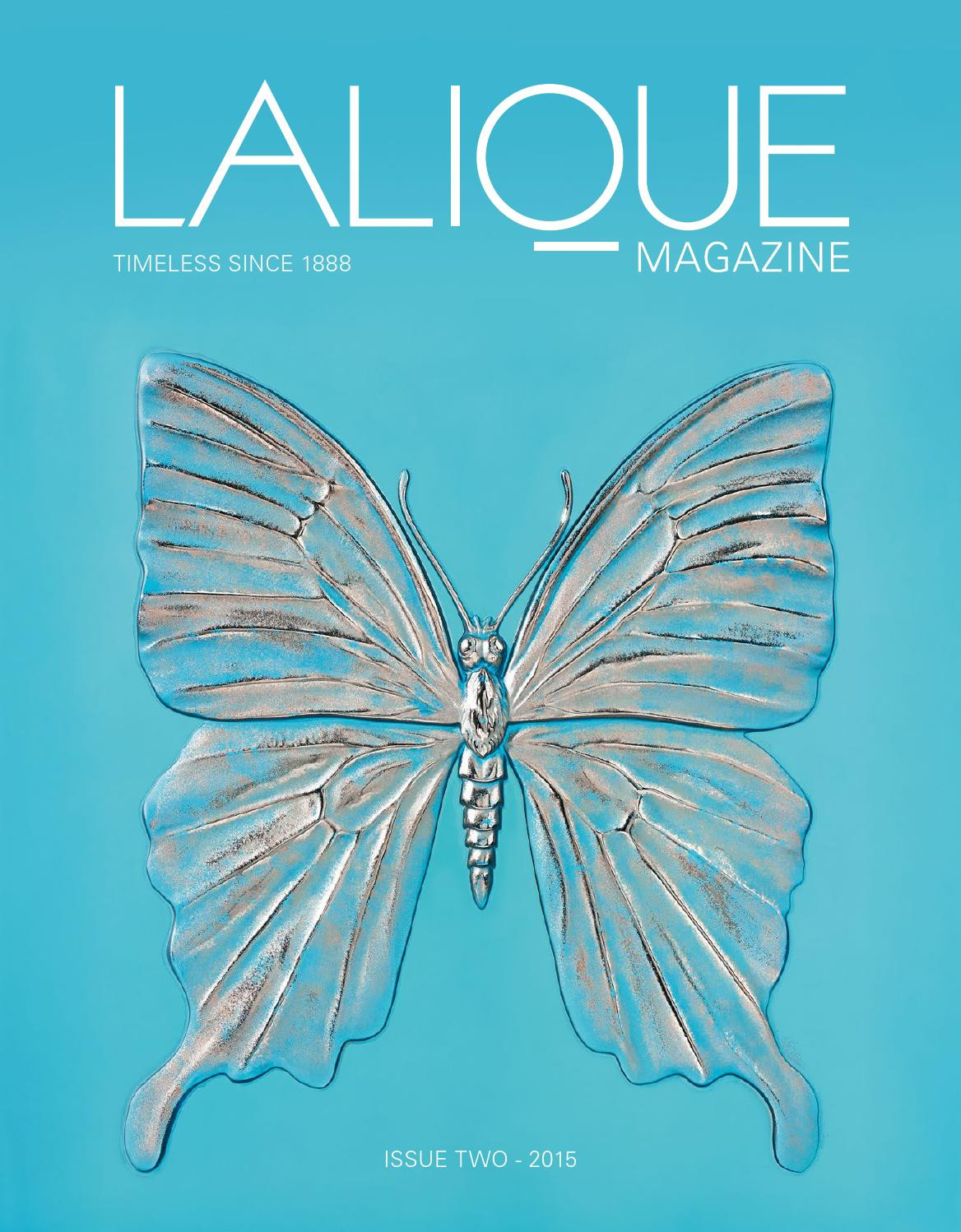 lalique glass vase of lalique magazine na2 english by lalique official issuu intended for page 1