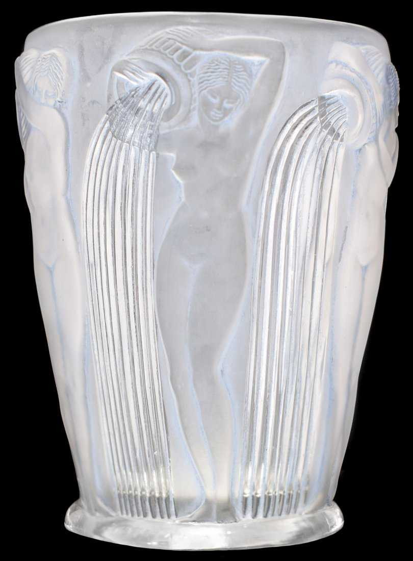 lalique sylvie vase of rene lalique opalescent danaides vase circa 1926 intended for 19595546 1 x