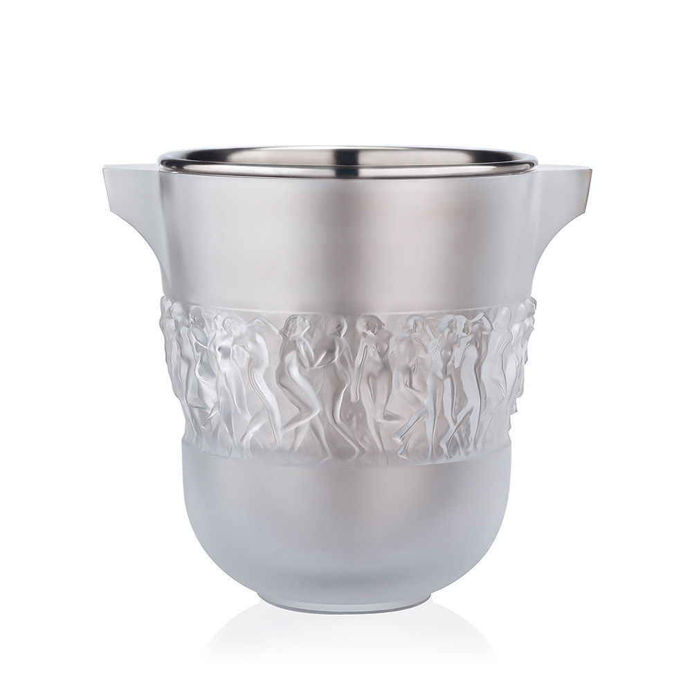 lalique vase bacchantes of bacchantes champagne cooler clear crystal champagne cooler throughout bacchantes champagne cooler clear crystal champagne cooler lalique