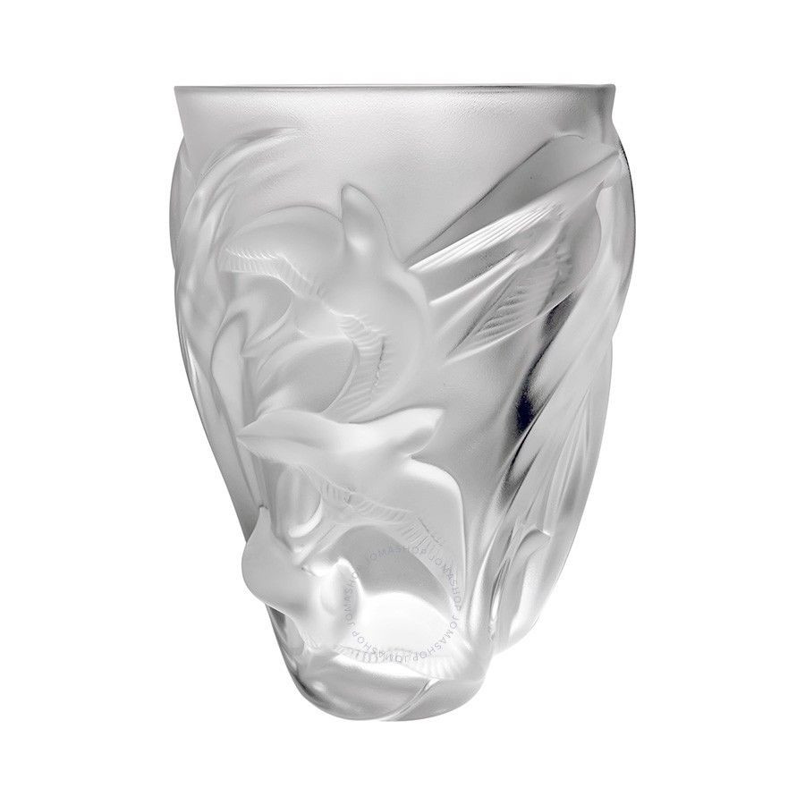 lalique vases on ebay of lalique crystal vase martinets 12308 ebay pertaining to norton secured powered by verisign