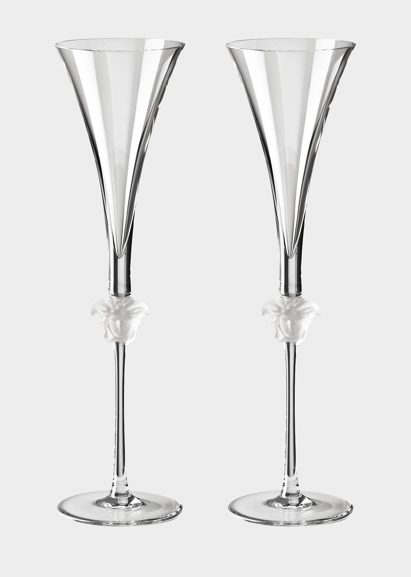 large bohemian crystal vase of versace home luxury glass crystal official website in 90 n48804 n110835 n2066 20 medusalumieregb2champagneflute glassandcrystal versace online store 1 0