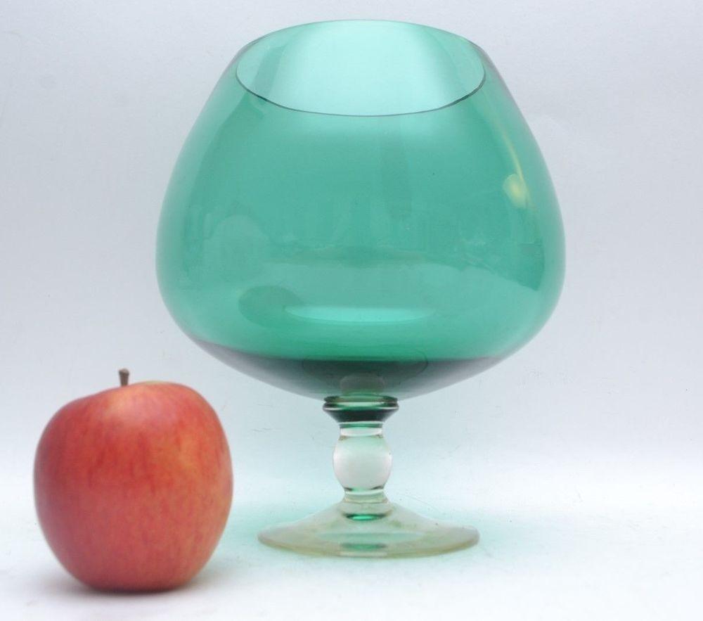 large brandy snifter vase of fabulous xl italian art glass optic glass brandy glass vase regarding fabulous xl italian art glass optic glass brandy glass vase midcenturymodern
