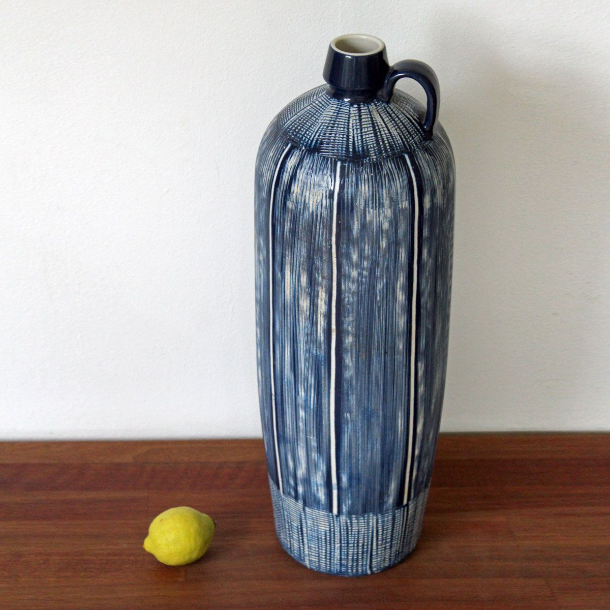 Large Ceramic Flower Vase Of Aksel Nielsen Aksini Denmark Huge Floor Vase Mid Century within Aksel Nielsen Aksini Denmark Huge Floor Vase