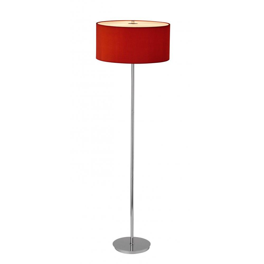 large chrome floor vase of contemporary floor lamps chrome car image regarding dar zar4925 zaragoza red chrome modern floor lamp