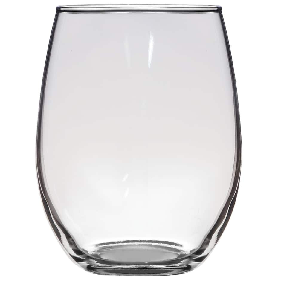 large clear glass hurricane vase of wine glasses dollar tree inc throughout luminarc stemless glass wine glasses 21 oz