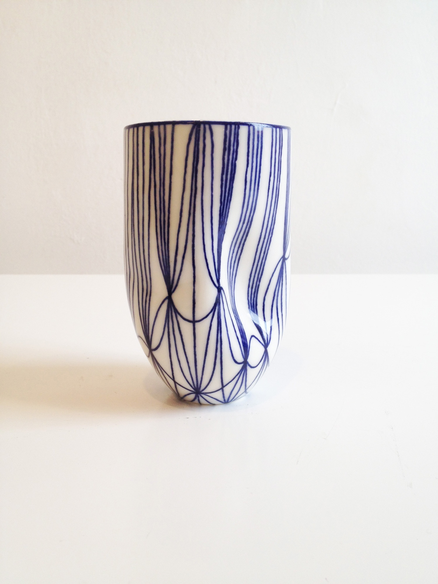 large cobalt blue glass vase of handheld vessel with external pattern large sarah wiseman gallery throughout handheld vessel with external pattern large