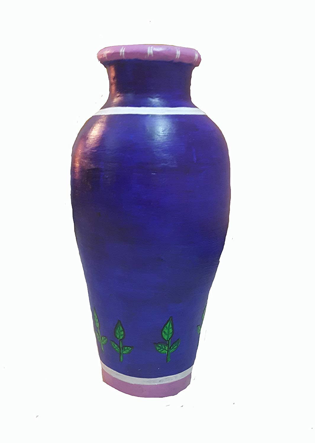 large decorative vases and urns of buy shree fine arts butterfly hand painted terracotta vase large within buy shree fine arts butterfly hand painted terracotta vase large online at low prices in india amazon in