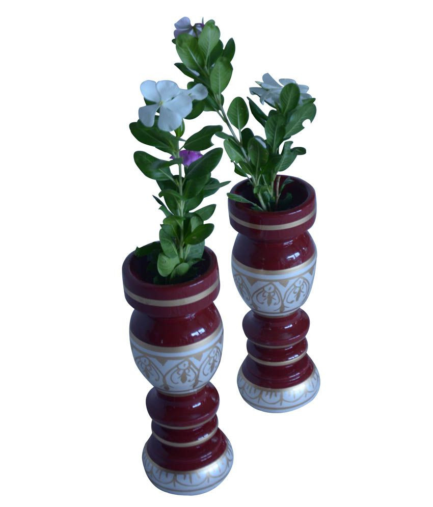 Large Decorative Vases for Sale Of Hastakala Bazaar Vase Pair Wooden Flower Home Decor Gift Item Intended for Hastakala Bazaar Vase Pair Wooden Flower Home Decor Gift Item Showcase