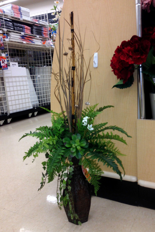 large floor vase arrangements of greens in a tall vase silk flower arrangements pinterest in greens in a tall vase