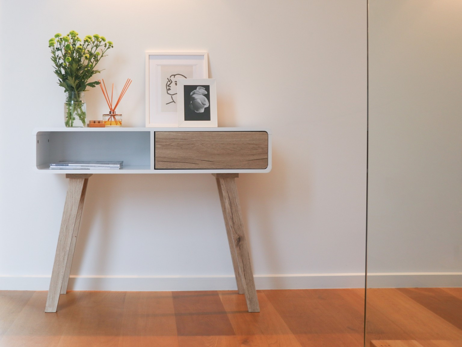 large floor vase nz of kennedy console living furniture mocka nz regarding kennedy console