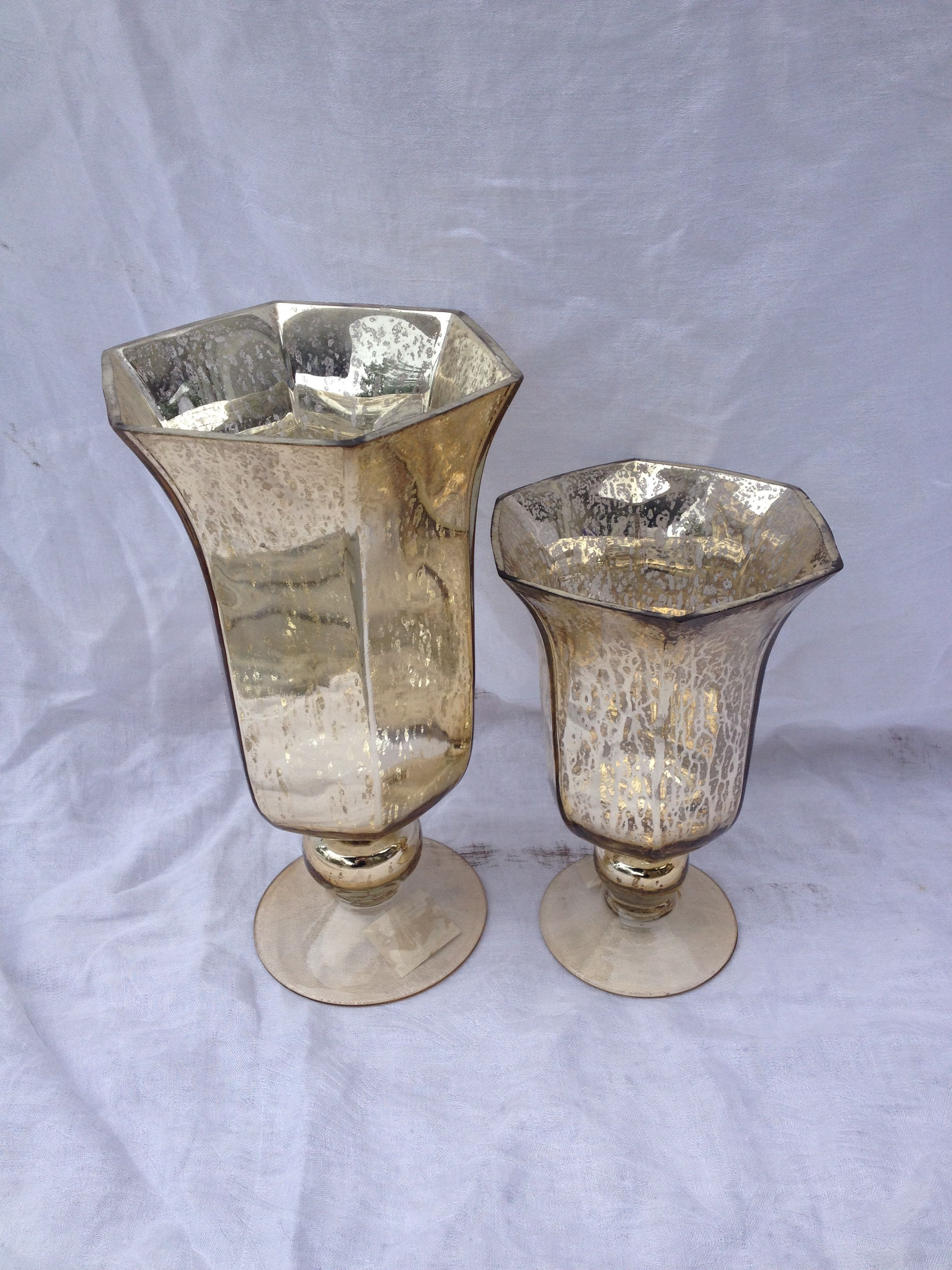 Large Silver Mosaic Vase Of 34 Gold Mercury Glass Vases the Weekly World with Gold Mercury Glass Lida Vase Inspiration Pinterest