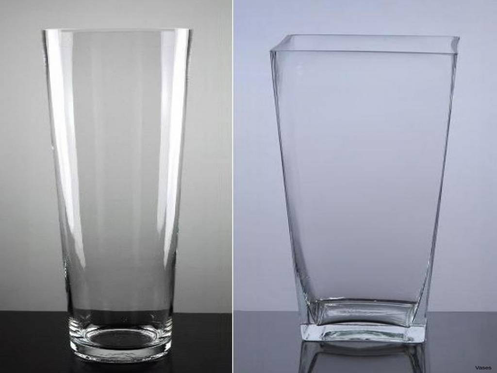 28 attractive Large Square Clear Glass Vases