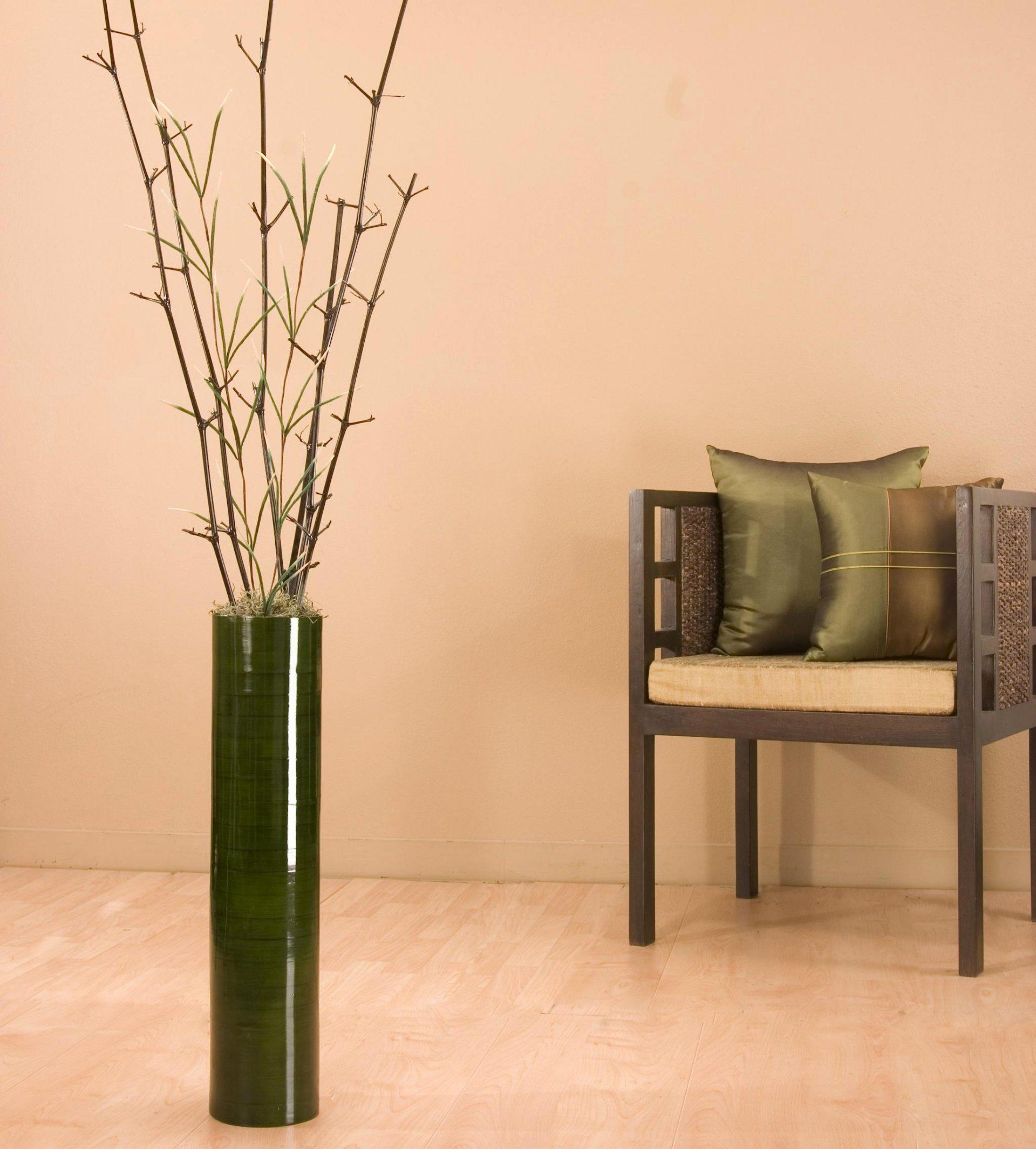 25 Unique Large Tall Floor Vases | Decorative vase Ideas